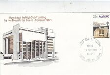 Australia 1980 Opening of High Court Building FDC Niddrie CDS Unadressed VGC