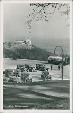 Ansichtskarte Wien Höhenstrasse Parkplatz (Nr.919)