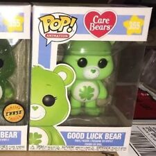 Funko Pop Animation! Care Bears GOOD LUCK BEAR Regular #355 Free Ship