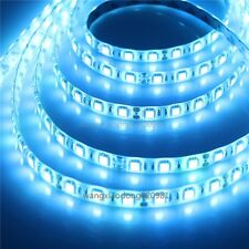 Ice Blue Waterproof LED Strip 5050 SMD Flexible Lighting 5M 300 LEDS 60LED/M 12V