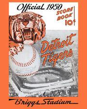 Reproduction Detroit Tigers Baseball Vintage Sports Photos