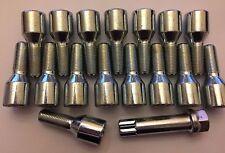16 x m12x1.25 Sintonizzatore + tasto 52mm lungo 27mm Filo Ruota Bulloni Si Adatta a Peugeot 1 65.1