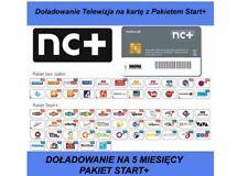 Doladowanie TnK NC+ START+ 12M Telewizja na karte Aufladung Canal+ TVN Turbo TVP