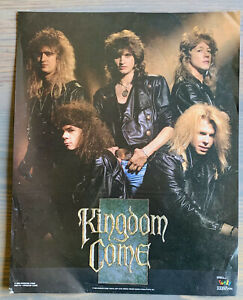 Kingdom Come Heavy Metal Band 1980s German Hair Band Music Poster