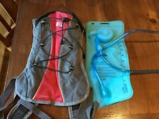 Denali Hydration Backpack, Hydro Compact 2.0, Red And Grey