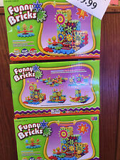 FUNNY BRICKS MOVING GEAR EDUCATIONAL BUILDING BLOCK TOY SET 81 PCS AGE 3 UP