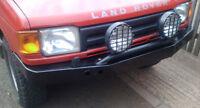 Land Rover Discovery 1 non Winch Bumper   D1NWB