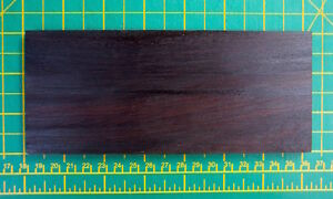 Indian Rosewood Dark for Scales - Straight Razor, Knife Restoration EXOTIC WOOD.