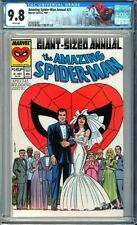 Amazing Spider-Man Annual #21 CGC 9.8 Peter Parker weds  Mary Jane Watson!L@@K!
