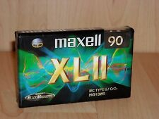 Maxell XL-II 90 Position High (Type II) Cassette * New & Sealed * Lot of 3 Tapes