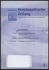 Homöopathische Zeitung Homöopathie Neurodermitis moderne Kunst Dokumentation