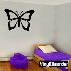Butterfly Butterflies Animal Wall Quote Mural Decal -cp028