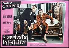 CINEMA-fotobusta E' ARRIVATA LA FELICITA' g. gooper