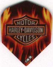 Harley-Davidson Flames Dart Flights: 3 per set