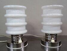 Vintage pair of bedside lamps - Paar Designer Tischleuchten Nachtischlampen 70er