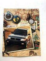 2002 Toyota Land Cruiser Original Sales Brochure Catalog