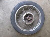 Honda CJ360 1976 - 1977 Rear Wheel Rim (NO TIRE)