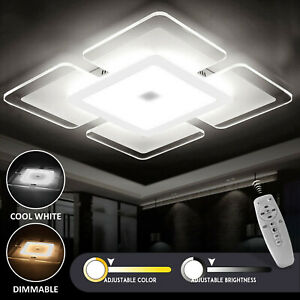 LED Ceiling Lights Square Panel Down Light Kitchen Bedroom Living Room Wall Lamp