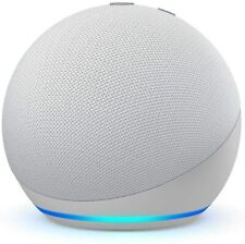 Amazon Echo Dot 4TH Generation Smart Speaker With Alexa Bluetooth -Glacier White