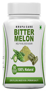''KRUPACARE'' BITTER MELON BLOOD SUGAR support SUPPLEMENT 90 CAPSULE 500 mg