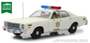 1977 Plymouth Fury - Hazzard County Sheriff 1:18 Scale Greenlight  GL19055