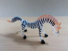 TINY CRYSTAL ZEBRA HORSE HAND BLOWN CLEAR GLASS ART FIGURINE ANIMAL COLLECTION