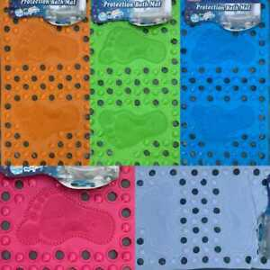 Non Slip Extra Long Bath Mat Durable Environmental PVC Anti Moulds Bathroom Mats