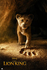 """THE LION KING - DISNEY MOVIE POSTER (TEASER - YOUNG SIMBA) (SIZE: 24"""" x 36"""")"""
