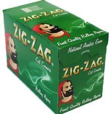 More details for   zig zag green standard regular cigarette rolling paper - buy 1 to 100 booklets