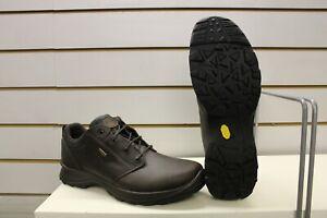 Grisport Exmoor Waterproof Brown Leather Trekking / Walking Shoes UK 12 EU 47