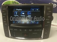 2009 Lexus IS350 (OEM) Navigation GPS Radio Display Screen With Climate Controls