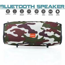 40w Portable Wireless Bluetooth Speaker Waterproof Stereo Bass USB/AUX MP3 Camo