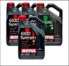 5liter 5ltr. MOTUL 6100 Sinergia + 10w-40,10w40 Aceite,ACEITE DE MOTOR