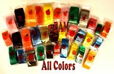 100 COLOR RAINBOW LOT APPLE MINI ZIPLOCK BAGGIES ALL SIZES TOP QUALITY