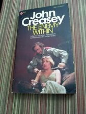 THE ENEMY WITHIN by John Creasey 1st Popular Print 1977 Good 80