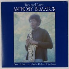ANTHONY BRAXTON: Trio and Duet SACKVILLE Spiritual Jazz LP Superb NM