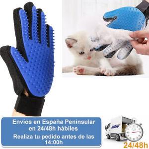 Guante peine cepillo mano izq. quita pelos mascotas gato perro (Envio express)