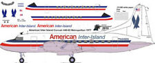 American Inter Island Convair 440 decals for Welsh 1/144 kits