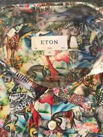 Eton Shirt New Collection Size 40 Slim 15 3/4