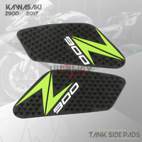 Tank Traction Gas Pad Knee Fuel Side Grips Protector For KAWASAKI Z900 17 18