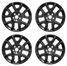 "17"" Black Wheel Skins Hubcaps (Set of 4) FOR  2019 2020 Jeep Renegade"