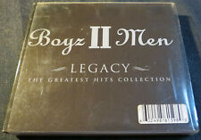 CD : BOYZ II MEN - LEGACY, THE GREATEST HITS COLLECTION ( DELUXE EDITION) (BR05)