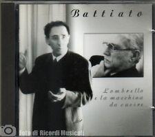 FRANCO BATTIATOL'OMBRELLO E LA MACCHINA DA SCRIVERE (Timbro Rosso Siae) 1995