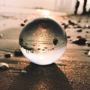 Perfekte Fotokugel Fotografie Glaskugel Klar Fotoqualität Kristallkugel 100mm