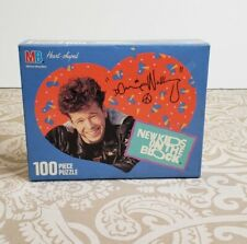 Vtg 1990 Nkotb New Kids on the Block Heart Shaped Jigsaw Puzzle Donnie Wahlberg