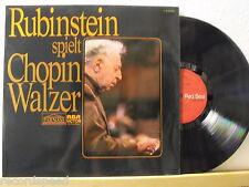 ARTUR RUBINSTEIN * Chopin Walzer * RCA Red Seal Sonderauflage * Record in NM *
