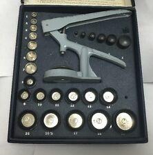 G & S Watch Crystal Inserter Hand Press Setter Repair Tool Watchmaker Flexo GS