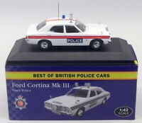 Atlas Editions 1/43 Scale 4 650 122 - Ford Cortina Mk3 - Essex Police Car