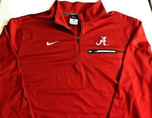 Nike Dri- Fit Alabama Crimson Tide  Long Sleeve Shirt Mens XL NCAA A1