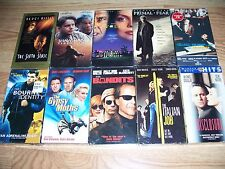10 Sealed VHS Lot: Primal Fear, Shawshank, Wolf, Sixth Sense, Bourne, Bandits